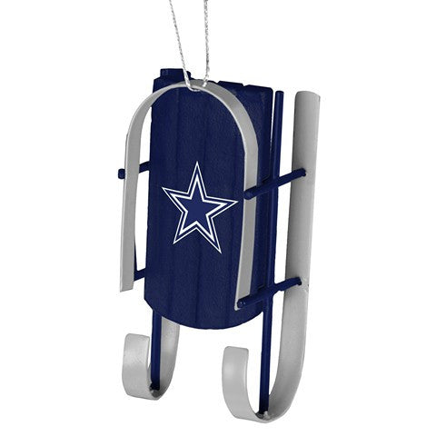 Dallas Cowboys Official NFL Resin Sled Ornament