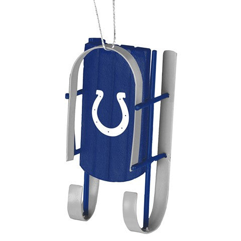 Indianapolis Colts Official NFL Resin Sled Ornament