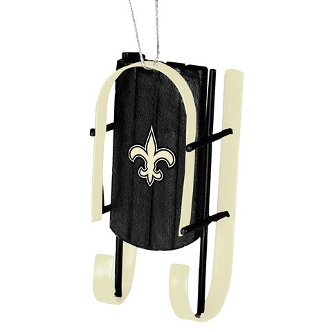 New Orleans Saints Official NFL Resin Sled Ornament