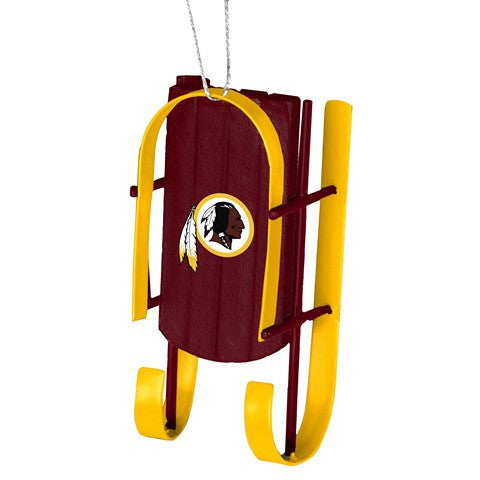 Washington Redskins Official NFL Resin Sled Ornament
