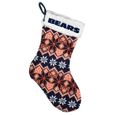 Chicago Bears NFL Official Knit Stocking