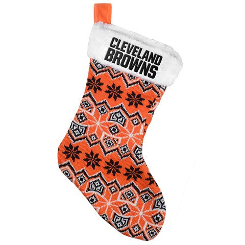 Cleveland Browns NFL Official 2015 Knit Stocking