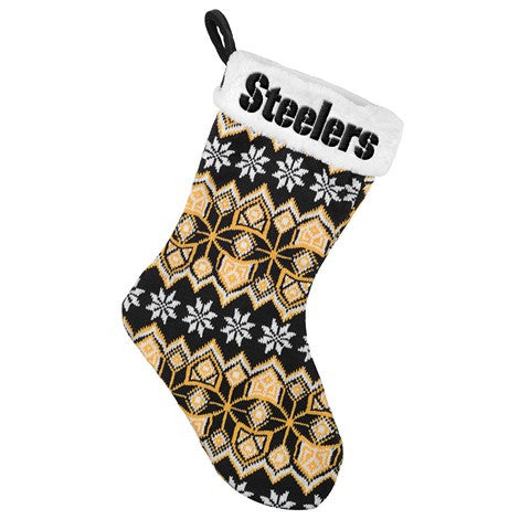 Pittsburgh Steelers NFL Official 2015 Knit Stocking