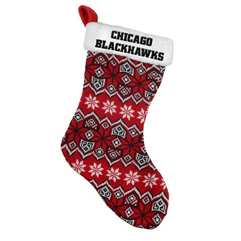 Chicago Blackhawks NFL Official 2015 Knit Stocking
