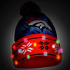 Denver Broncos Official NFL Big Logo Light Up Printed Beanie