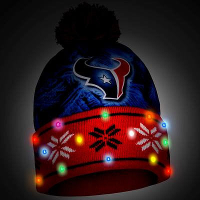 Houston Texans Official NFL Big Logo Light Up Printed Beanie