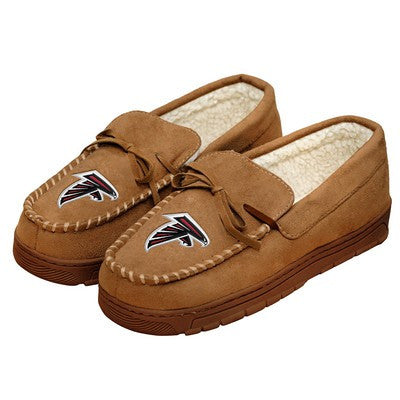 Atlanta Falcons   Official NFL Mens Moccasin Slippers