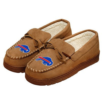 Buffalo Bills   Official NFL Mens Moccasin Slippers