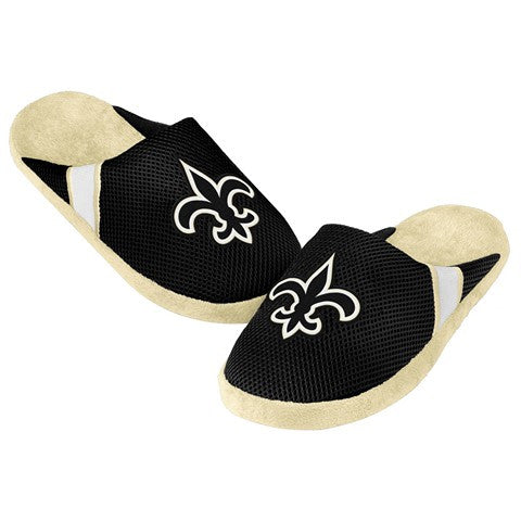 New Orleans Saints Official NFL Jersey Slippers