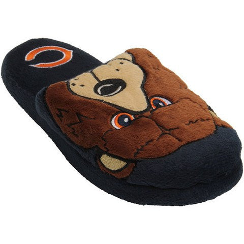 Chicago Bears Official NFL Youth 8-16 Mascot Slide Slippers