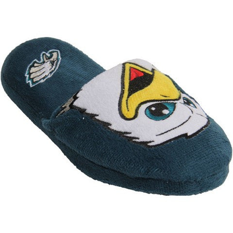Philadelphia Eagles Official NFL Youth 8-16 Mascot Slide Slippers