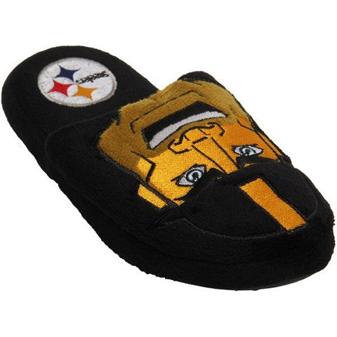 Pittsburgh Steelers Official NFL Youth 8-16 Mascot Slide Slippers