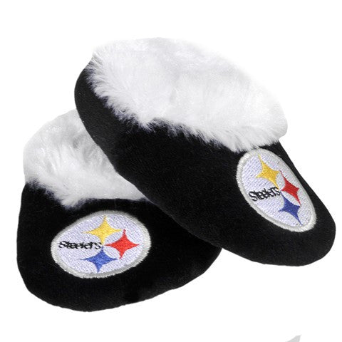 Pittsburgh Steelers Official NFL Baby Bootie Slippers