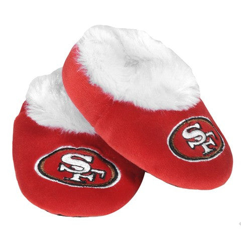 San Francisco 49Ers Official NFL Baby Bootie Slippers