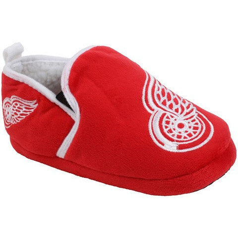 Detroit Red Wings Official NHL 8-16 Youth Sherpa Slippers