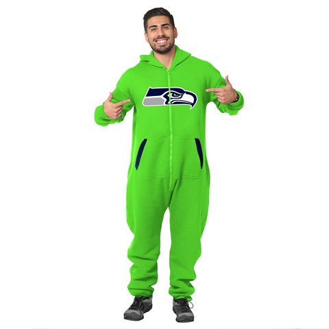 Seattle Seahawks Team  - GreenOfficial NFL Sweatsuit