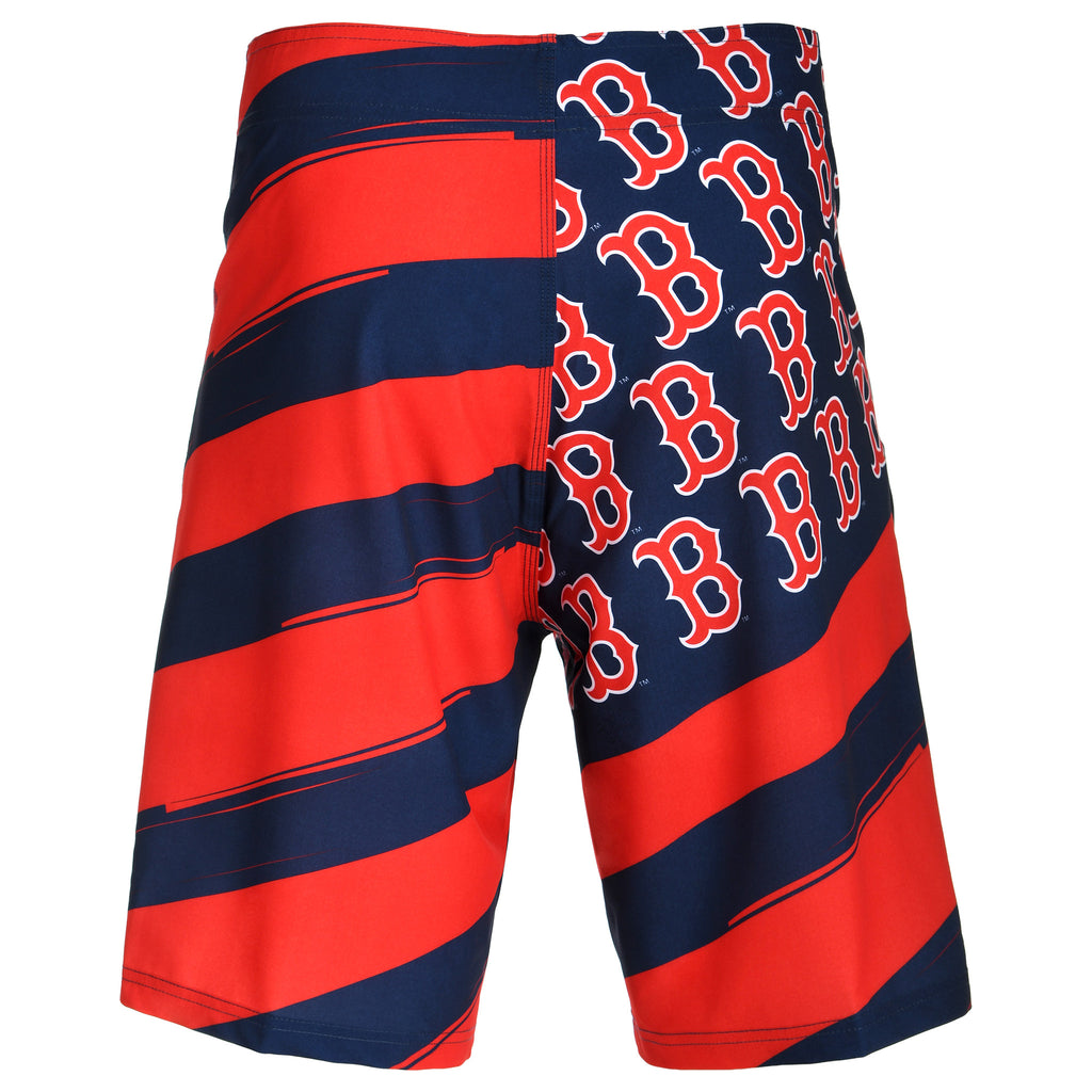Boston Red Sox Diagonal Flag Boardshort - Mens (PRE ORDER: SHIPS MID TO LATE MAY)