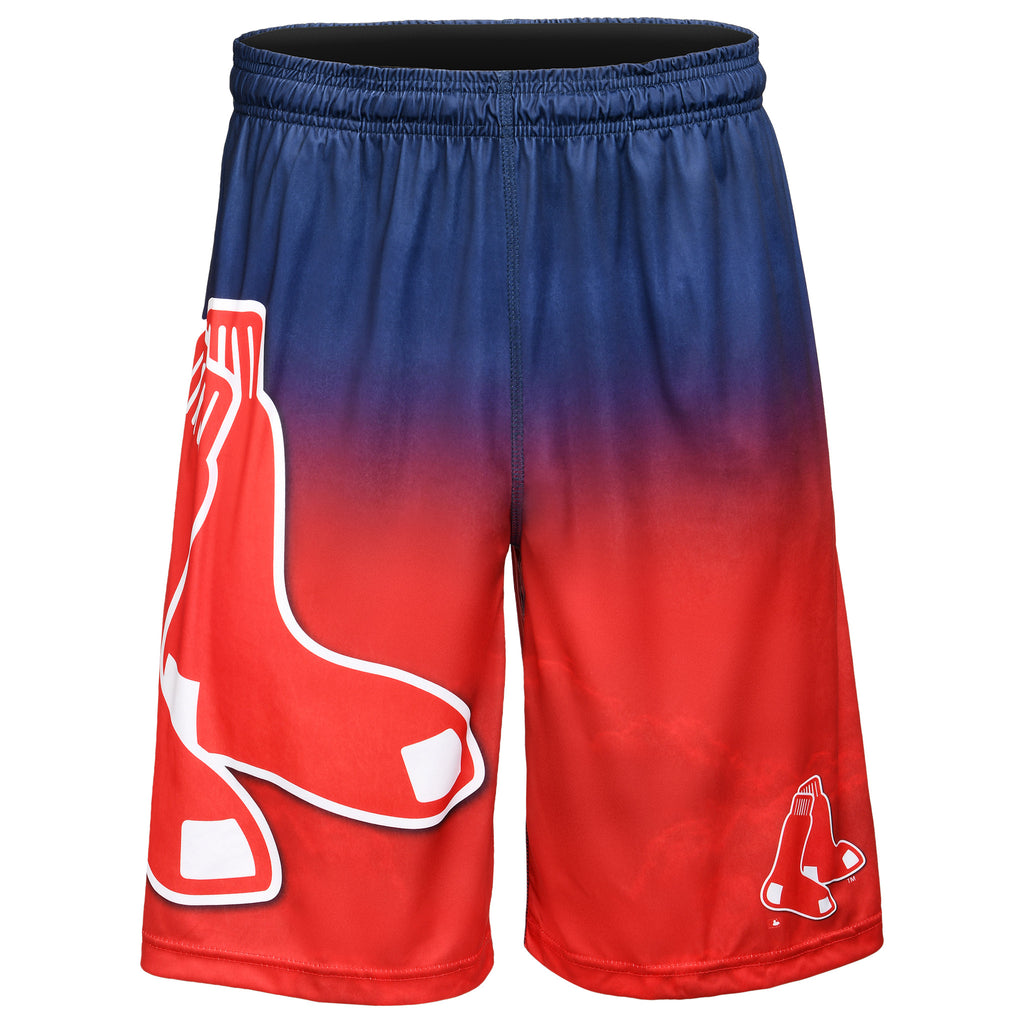 Boston Red Sox Official MLB Gradient Big Logo Training Short - Mens (PRE-ORDER:  ARRIVES MID TO LATE APRIL:    )