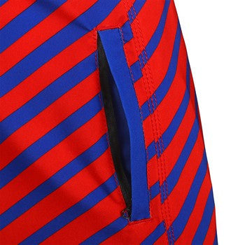 Chicago Cubs Official MLB Stripes Boardshorts