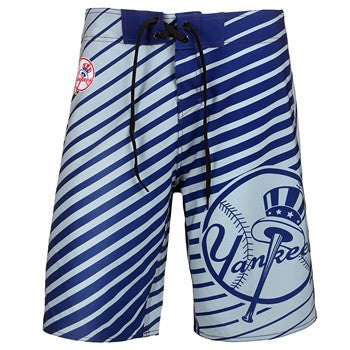 New York Yankees Official MLB Stripes Boardshorts
