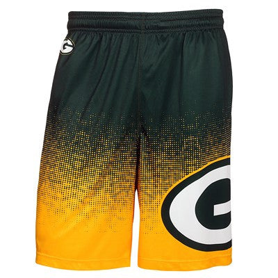 Green Bay Packers Official NFL Gradient Polyester Short