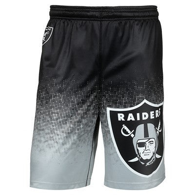 Oakland Raiders  Official NFL Gradient Polyester Short