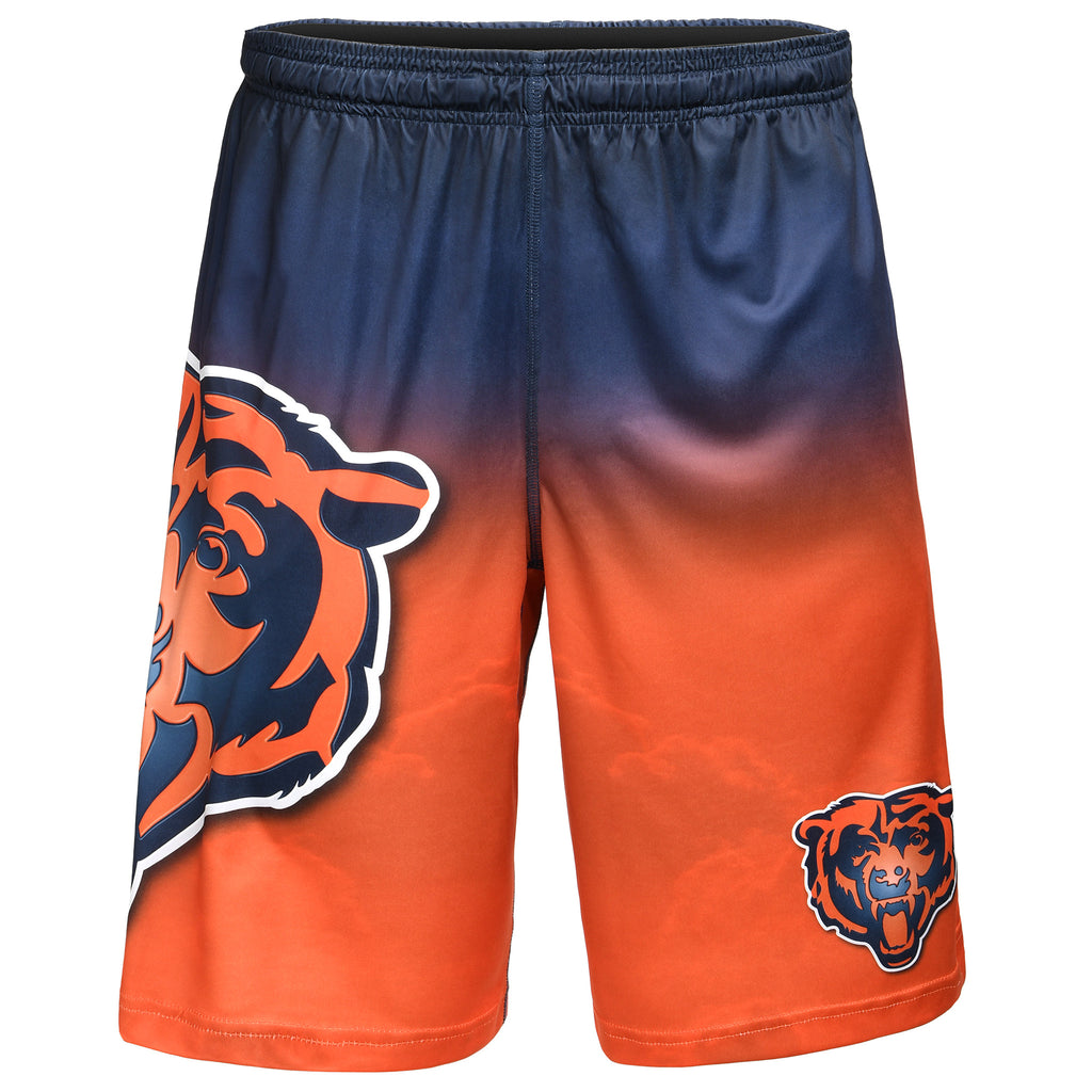 Chicago Bears Official NFL Gradient Big Logo Training Short - Mens (PRE-ORDER:  ARRIVES MID TO LATE APRIL:    )