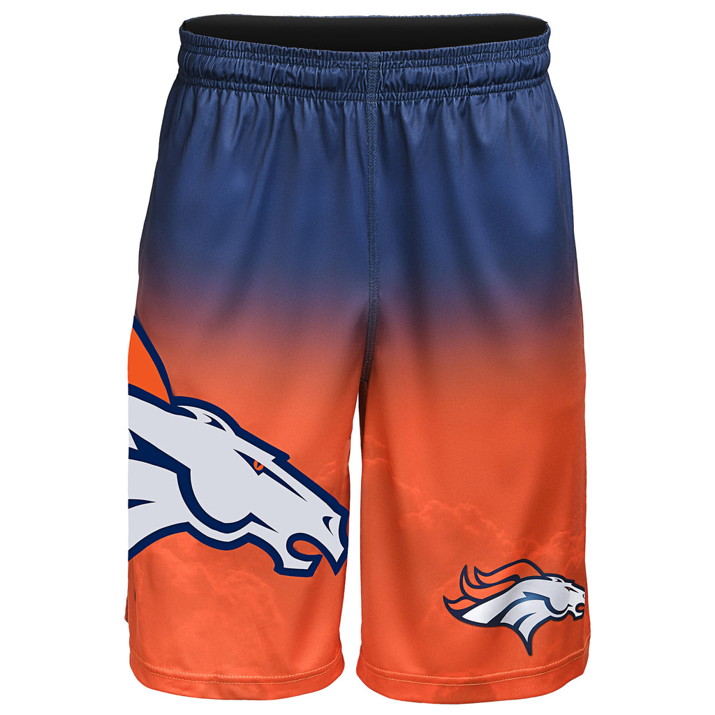 Denver Broncos Official NFL Gradient Big Logo Training Short - Mens (PRE-ORDER:  ARRIVES MID TO LATE APRIL:    )