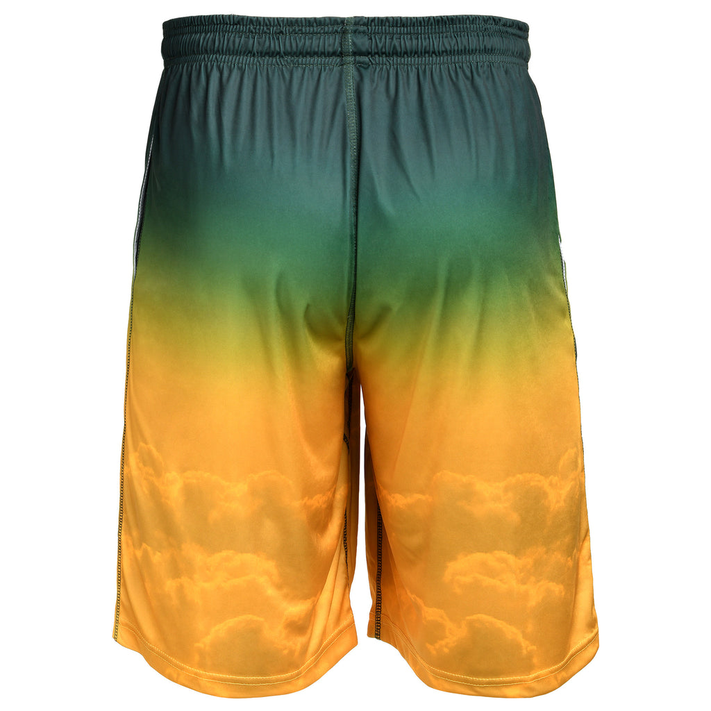 Green Bay Packers Official NFL Gradient Big Logo Training Short - Mens