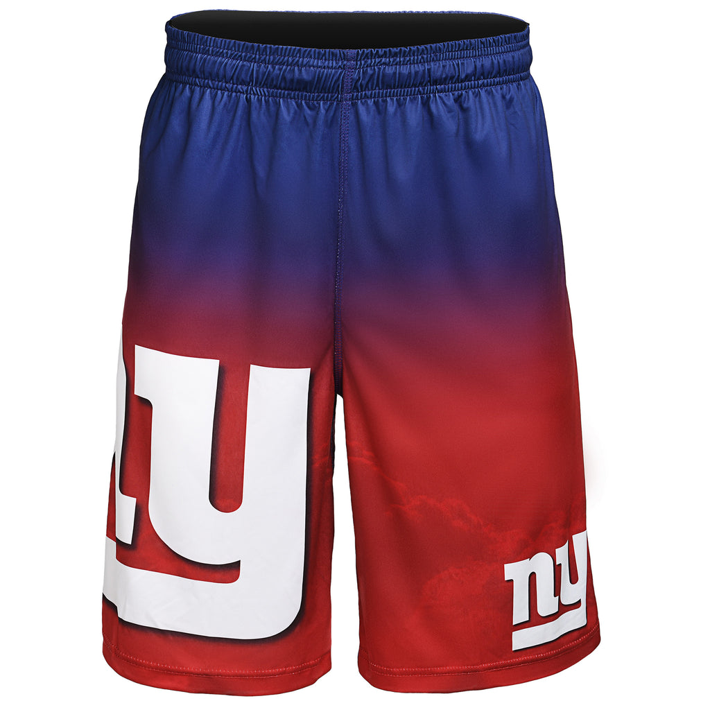 New York Giants Official NFL Gradient Big Logo Training Short - Mens (PRE-ORDER:  ARRIVES MID TO LATE APRIL:    )