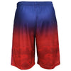 New York Giants Official NFL Gradient Big Logo Training Short - Mens