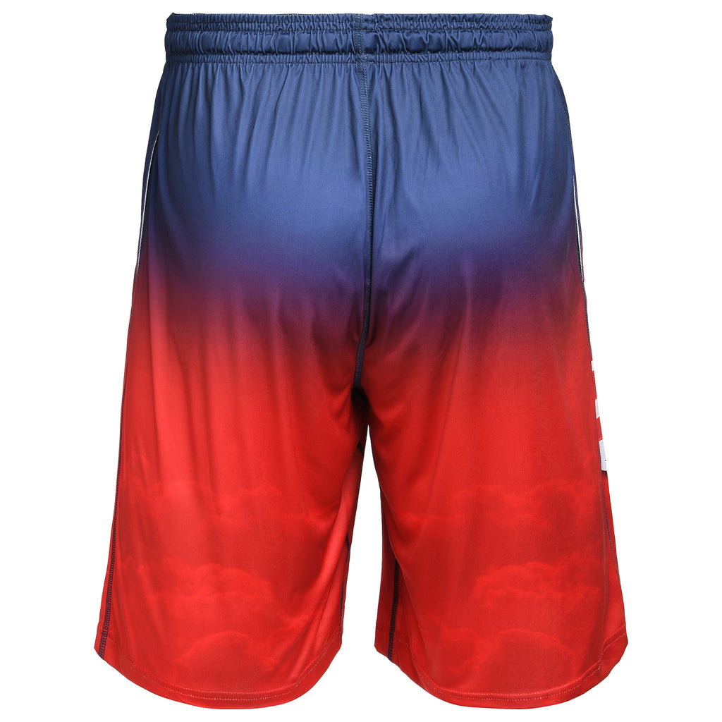 New England Patriots Official NFL Gradient Big Logo Training Short - Mens