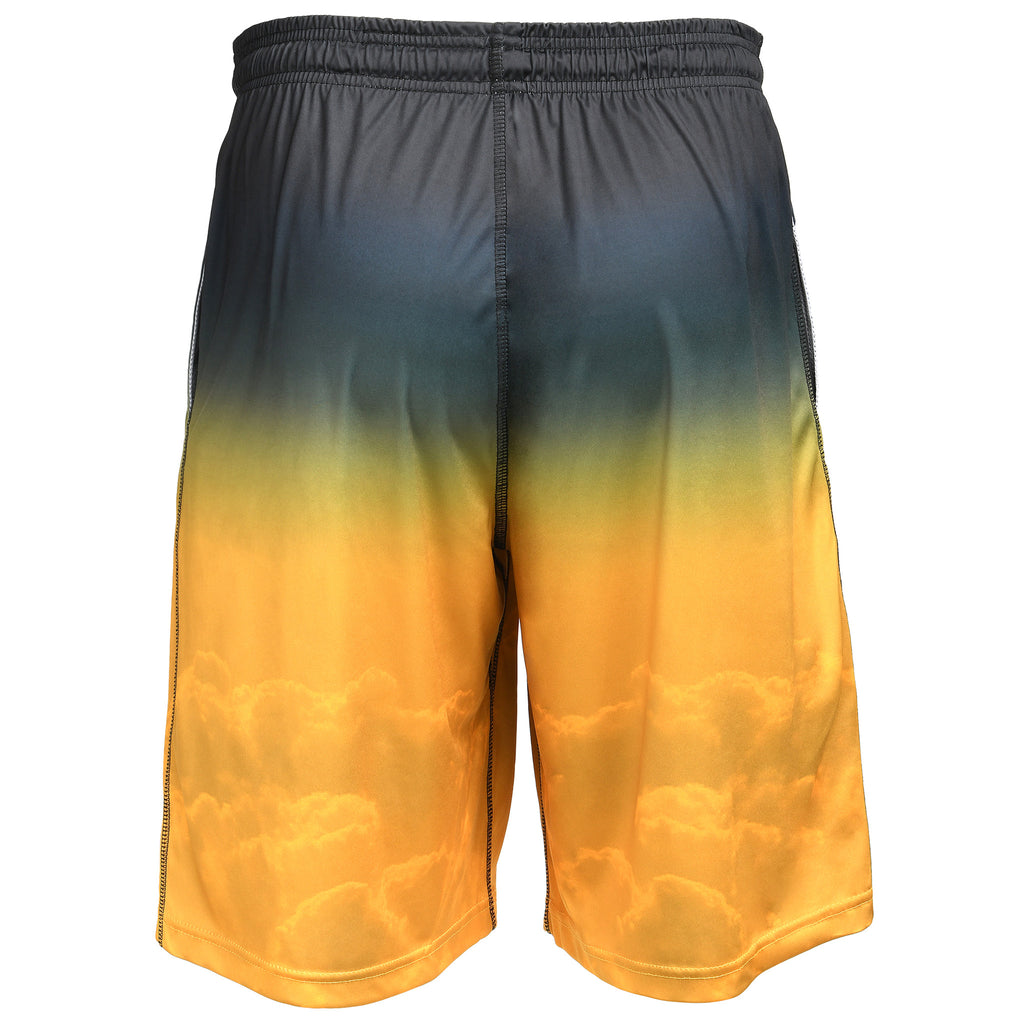 Pittsburgh Steelers Official NFL Gradient Big Logo Training Short - Mens