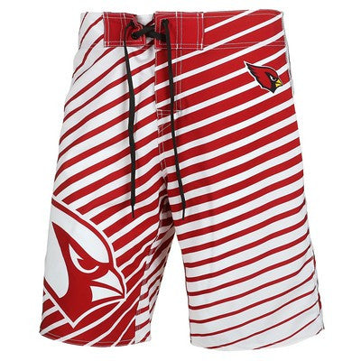 Arizona Cardinals Official NFL Stripes Boardshorts