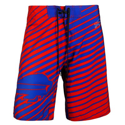 Buffalo Bills Official NFL Stripes Boardshorts