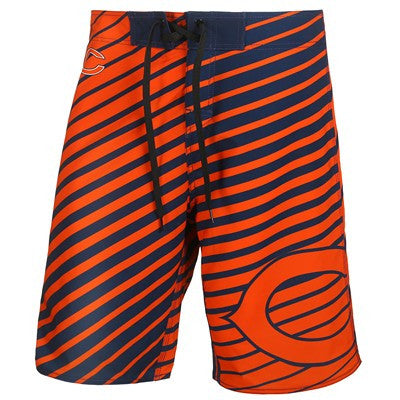 Chicago Bears   Official NFL Stripes Boardshorts