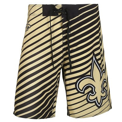New Orleans Saints   Official NFL Stripes Boardshorts