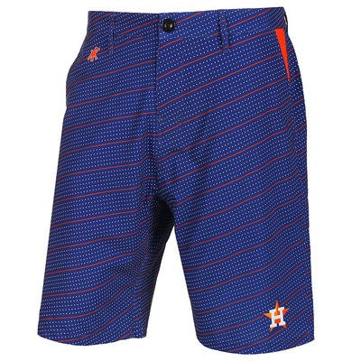 Houston Astros Official MLB Dots Walking Shorts