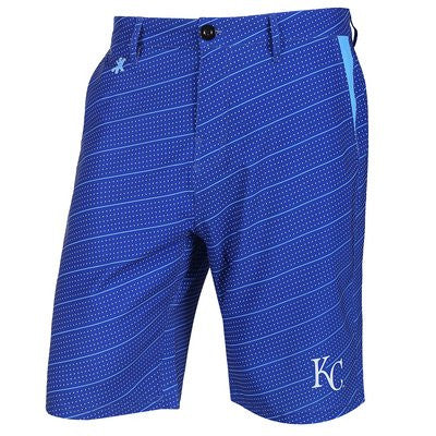 Kansas City Royals Official MLB Dots Walking Shorts