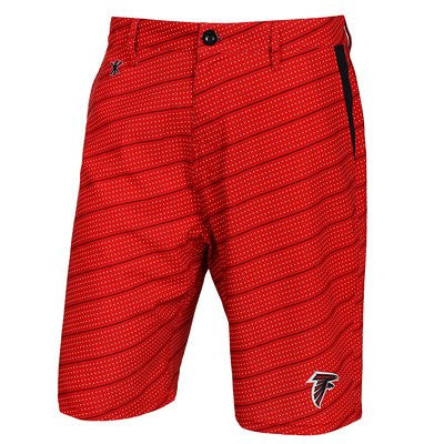 Atlanta Falcons Official NFL Dots Walking Shorts