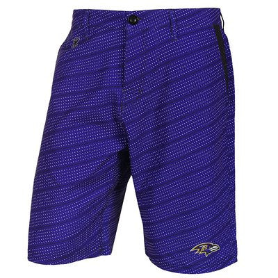 Baltimore Ravens Official NFL Dots Walking Shorts