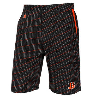 Cincinnati Bengals Official NFL Dots Walking Shorts