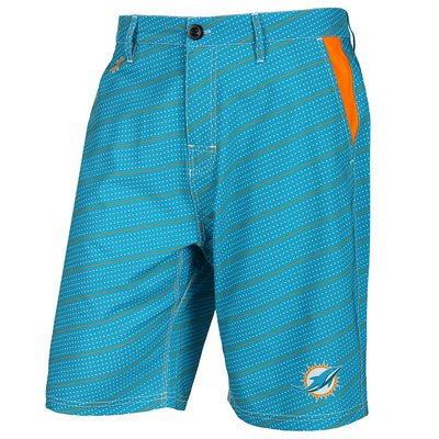 Miami Dolphins Official NFL Dots Walking Shorts