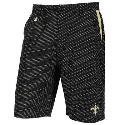 New Orleans Saints Official NFL Dots Walking Shorts