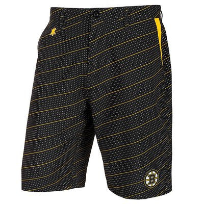 Boston Bruins Official NHL Dots Walking Shorts