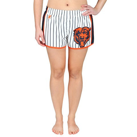 Chicago Bears Official NFL Womens Pinstripe Short