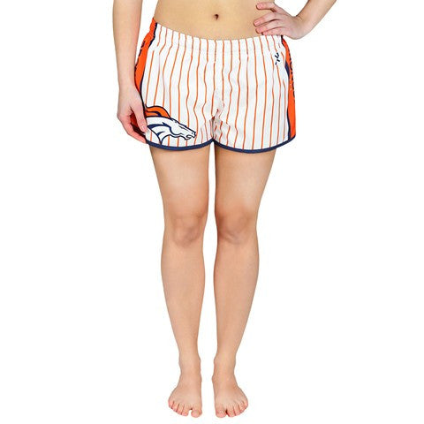 Denver Broncos Official NFL Womens Pinstripe Short