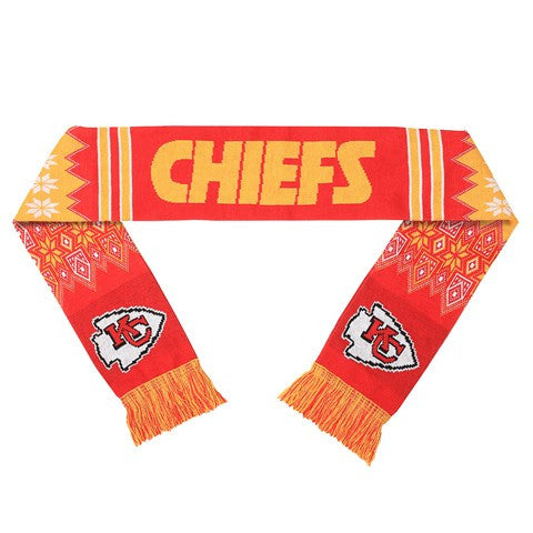 Kansas City Chiefs Official NFL Lodge Scarf