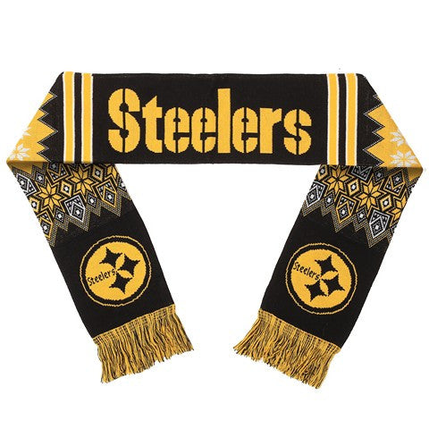 Pittsburgh Steelers Official NFL Lodge Scarf