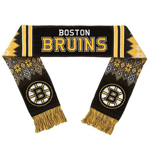 Boston Bruins Official NHL Lodge Scarf